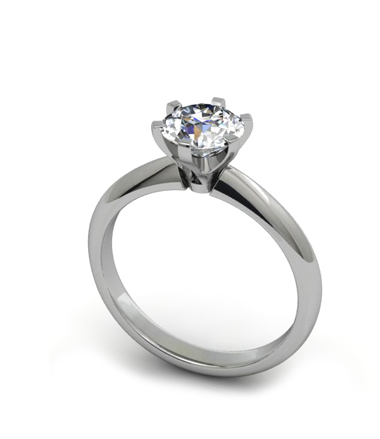 Polished Diamonds USA Diamond Engagement Rings Certified