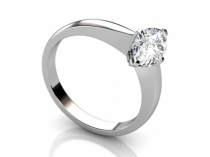 Engagement ring SPAFO5 profile view